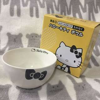 🇯🇵JAPAN ☆全新☆ Hello Kitty 凱蒂貓 陶磁小碗 Lawson限定