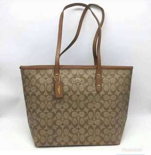 AUTHENTIC COACH CITY TOTE