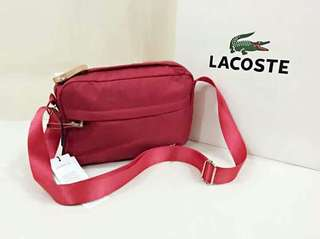 LACOSTE Sling Bags with paperbag
