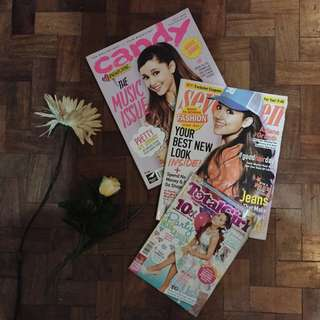 (get all) ariana grande magazines