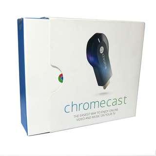 ORIGINAL Google Chromecast HDMI Streaming TV Dongle