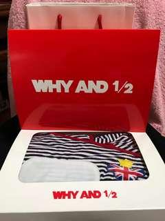 🚚 全新現貨WHY AND 1/2 新生兒包巾 包巾睡袋含禮盒和提袋