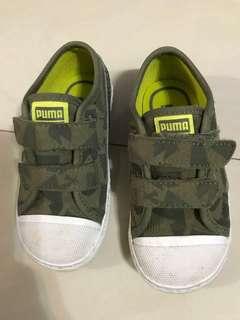 PUMA迷彩童鞋(近全新)