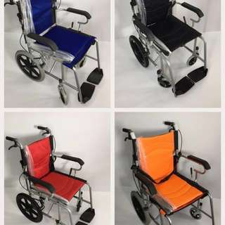 Ready stock -Brand New  Light Weight Wheelchair / pushchair for sales.