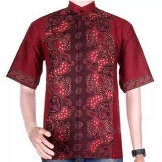 #mausupreme Baju Batik Koko