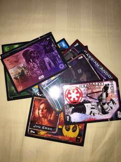 star wars collectable cards