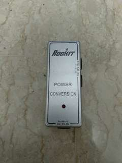 WTS: 9v to 18v power converter for pedals