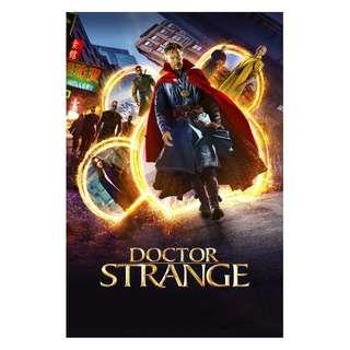 Dr strange full sized movie poster alternate designs