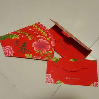 Red Packets - CIMB Preferred (8pcs c/w 1 box)