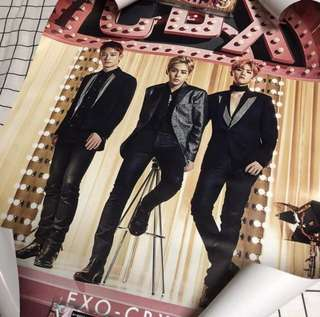 EXO CBX MAGIC POSTER x5