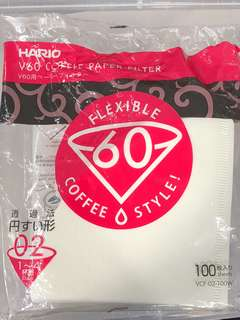 Hario V60 coffee paper filter 咖啡過濾紙