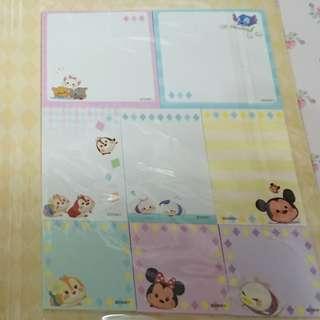 Disney - Memo book (Tsum Tsum)