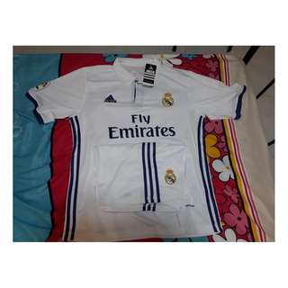 Brand New Real Madrid 16/17 Home Jersey