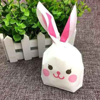 10pcs Mini gift bag (Pink Rabbit)