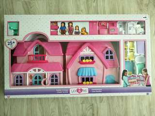 Family cottage dollhouse playset from Toys r us