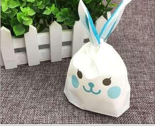 10pcs Mini Gift Bag (Blue Rabbit)