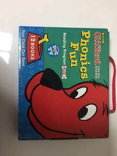 Clifford the dog phonics fun