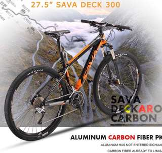 SAVA DECK 300 *New ( Carbon Mountain Bike 30 speed )