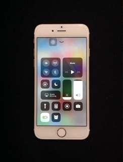 iPhone 6 16gb globelocked gold