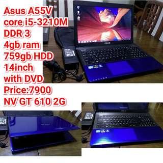 Asus A55V core i5-3210M