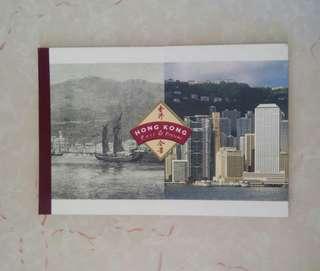 限量珍藏版香港97年回歸歷史紀念郵票簿 內附英女皇頭像紀念郵票