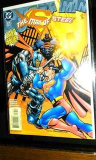 DC Superman The Man Of Steel #134 last issue.