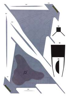 紙模型(圖稿)  有飛機 戰車+場景 小圖案 須自行製作