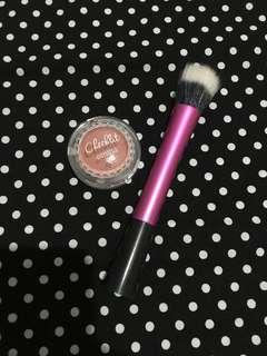 DISKON HEMAT !!! EMINA BLUSH MARSHMALLOW LADY + BRUSH