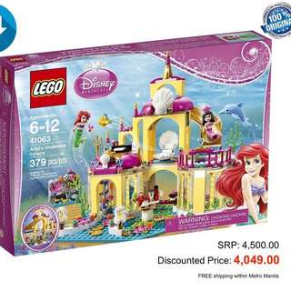 LEGO LITTLE MERMAID CASTLE