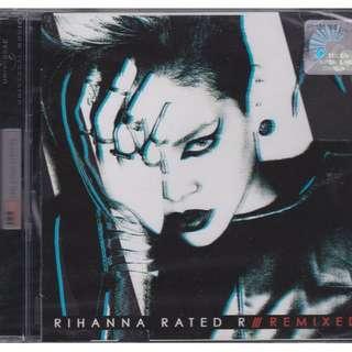 Rihanna Rated R Remixed CD