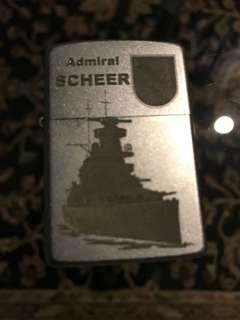 Zippo Admiral Scheer