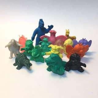 東寶 ©TOHO 絕版橡皮公仔 哥吉拉 Godzilla