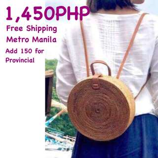 Authentic Ata or Rattan Bags from Bali Indonesia