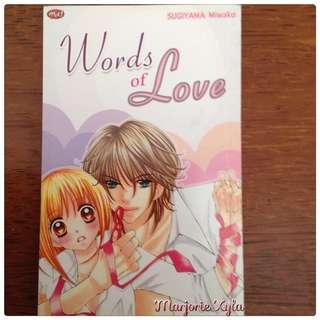 Komik One Shot - Words of Love - Sugiyama Miwako