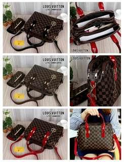 Tas New Louis Vuitton 3zip* Kode  L2793#8
