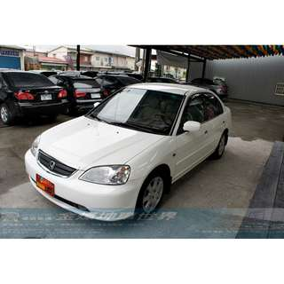 2001年HONDA K10 1.7便宜省油代步車 省稅金 冷氣超涼