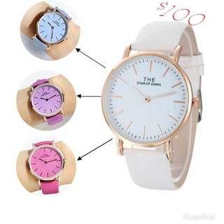 韓錶大熱:光感變色手錶
