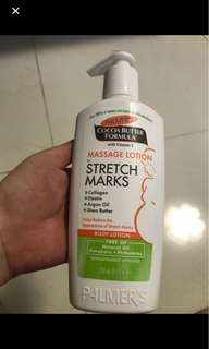 250ml Palmer's lotion for stretch marks