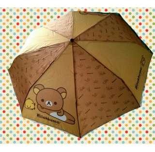 Rilakkuma 鬆馳熊 Umbrella 摺傘 縮骨遮 雨傘 一把