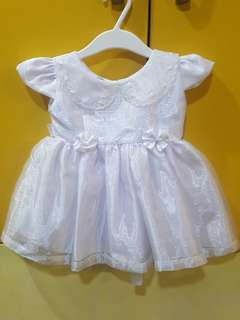 Christening White Dress