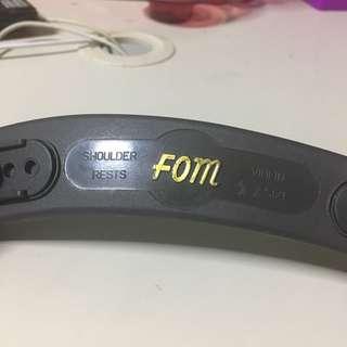 FOM violin shoulder rest