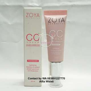 ZOYA CC Cream - Translucent