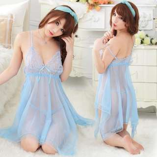 *FREE SHIPPING*READY STOCK* Sexy Lingerie Sleepwear Nightwear Babydoll Dress