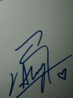 Aloysius Pang autograph