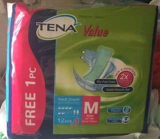 Tena Diapers ( Medium Size)