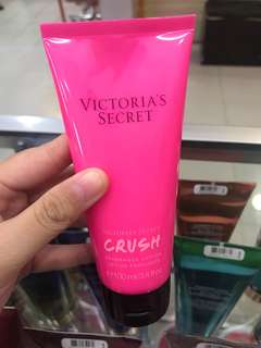 crush travel size body lotion