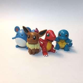 Pokémon 伊布 小火龍 傑尼龜 瑪力露