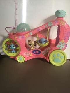 REPRICED! Littlest Pet Shop Vehicle Paw Powered Cruiser