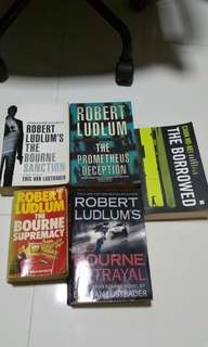 Robert ludlum exciting crime Thriller mystery detective murder