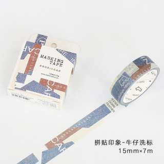Washi Tape (Ref No.: 309) / Sample 50cm